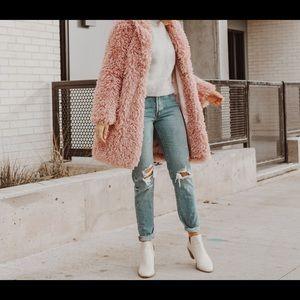 pink Teddy Bear Coat